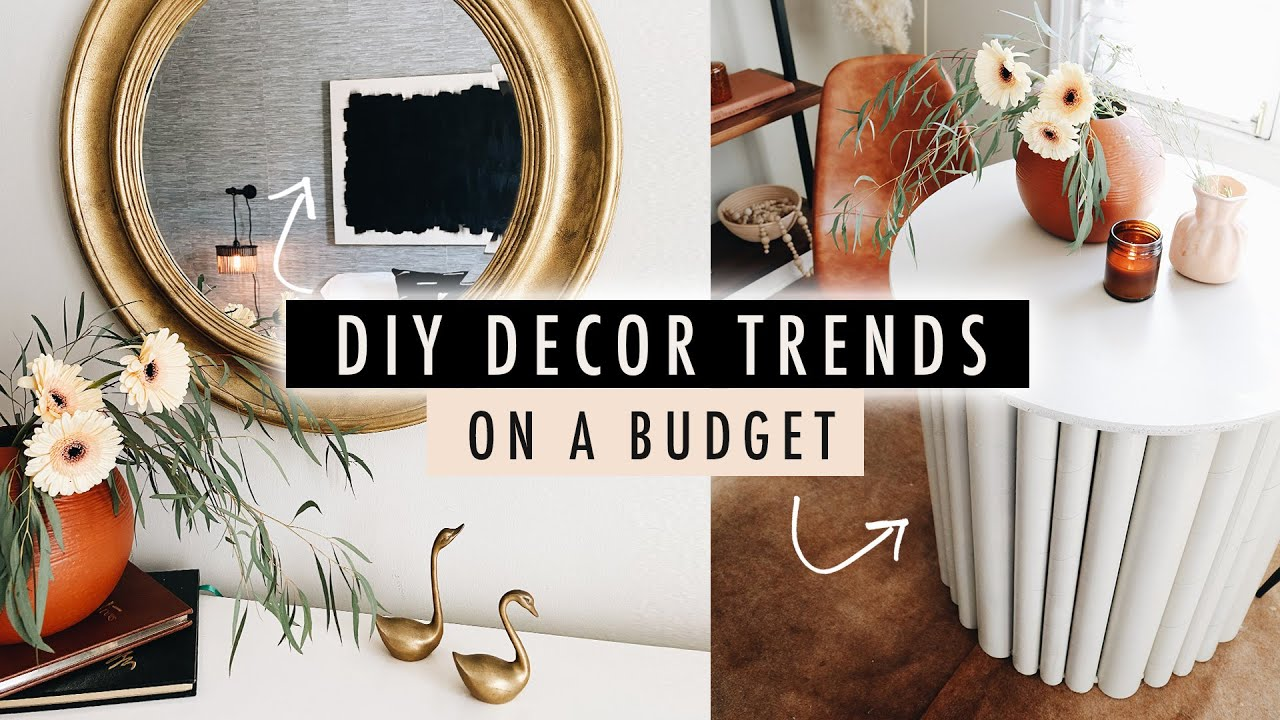 DIY 19 DECOR TRENDS on a Budget // Thrift Flip Home Decor  XO, MaCenna