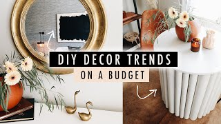 DIY 2020 DECOR TRENDS on a Budget // Thrift Flip Home Decor  | XO, MaCenna