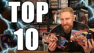 TOP 10 SUPER NINTENDO GAMES - Happy Console Gamer
