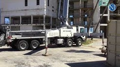 Construction on the Treasure Island Resort in Daytona Beach Shores