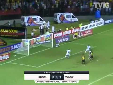 Sport 0 x 2 Vasco