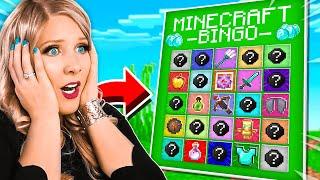 Minecraft Bingo BUT everything is RANDOM! BriannaPlayz Challenge