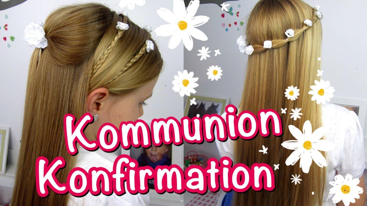 💗 Konfirmation Kommunion Frisuren ☆klassisch☆ Einfach Und
