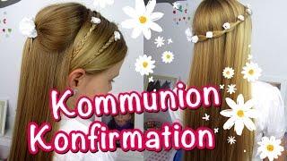 💗 Konfirmation / Kommunion Frisuren ★klassisch★ einfach und schnell 💗