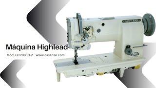 Costura recta de 2 agujas Highlead GC20618-2 :: Casa Rizo