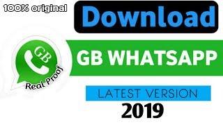 GB Whatsapp Latest Version Download Link | 2019 | Techyarmaan