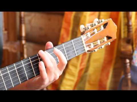 Настроить 1 струну на гитаре камертон
