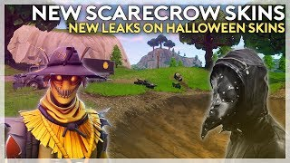 New Scarecrow Skins! New Leaks on Halloween Skins (Fortnite Battle Royale)
