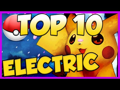 Top 10 Electric Type Pokemon! Electric Type Pokemon Facts, Stats, And Trivia!