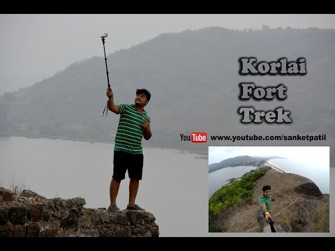 Korlai Fort | Trekking | Alibag-Murud Road | Korlai Lighthouse | April 2016 footage |