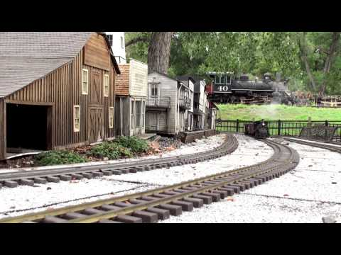 The Denver Garden Railway Society at the Colorado Railroad Museum (extended cut)