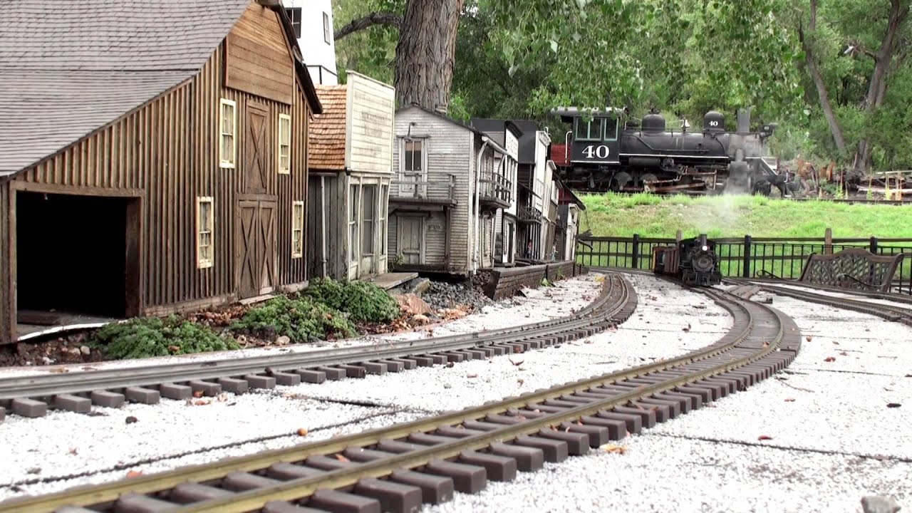 Train to colorado from pa - The Denver Garden Railway Society At The Colorado Railroad Museum Extended Cut Youtube