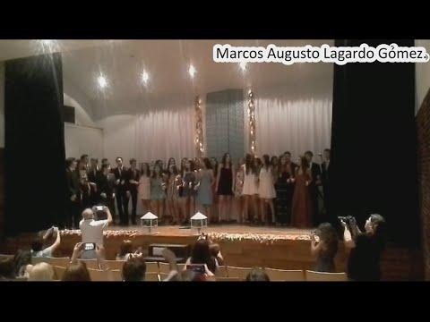 TS Eliot Institute - Graduation  - Marcos Augusto Lagardo Gómez