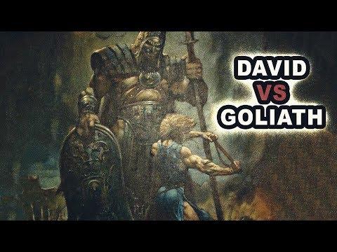 David Y Goliat Historia Bíblica
