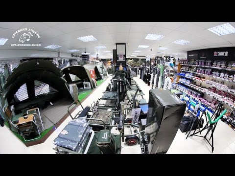 Caterham Angling Shop Tour - Surrey / London