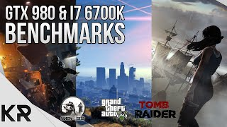GTX 980 & i7 6700K Benchmarks - GTA 5, Rainbow Six Seige, Tomb Raider