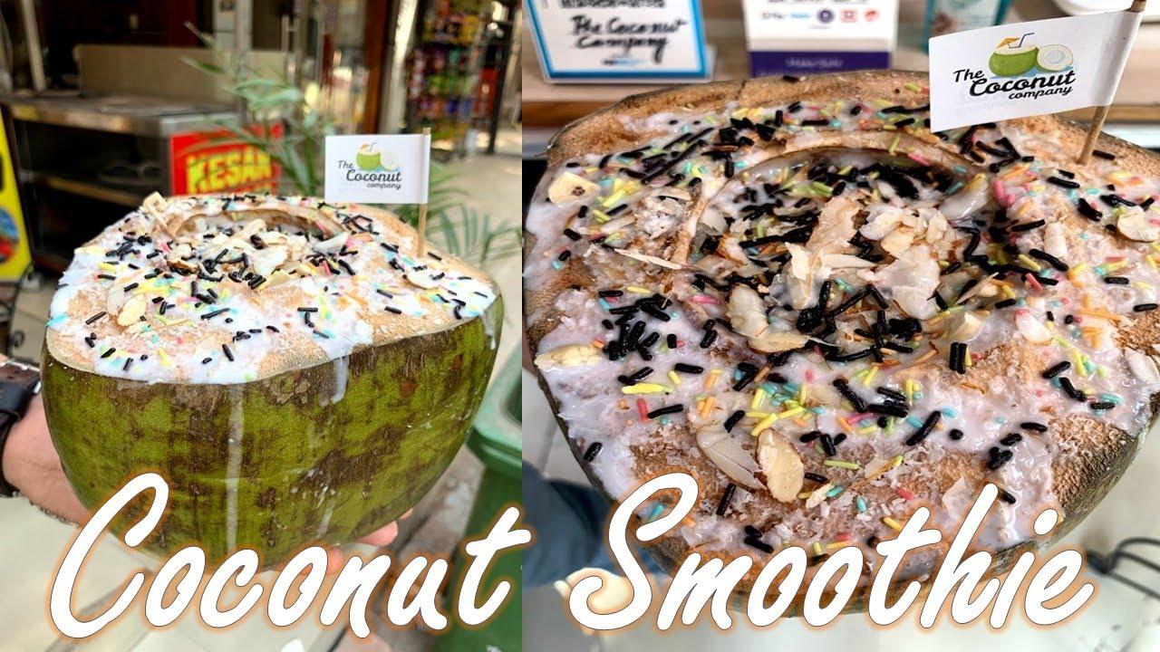 Coconut Smoothie Making of Nariyal Smoothie - Coconut Milk and Vanilla Ice cream 110₹  #Shorts