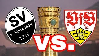 SV Sandhausen gegen VfB stuttgart 1995 DFB Pokal 1.Runde 15:14 n.E. | Legendäre Spiele