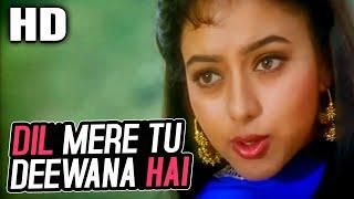 Dil Mere Tu Deewana Hai (Female)| K. S. Chithra | Sooryavansham Songs |Amitabh Bachchan, Soundarya