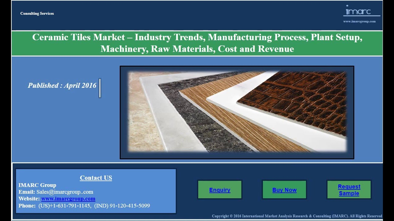 Ceramic tiles market global industry analysis trends ceramic tiles market global industry analysis trends manufacturing requirements and plant setup youtube dailygadgetfo Images