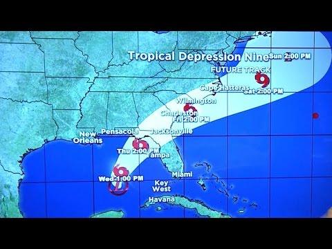 Florida Gulf Coast braces for heavy storms