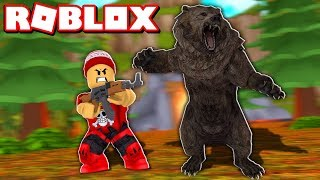 NOUVEAU - Hunting ANIMALS in the ROBLOX HUNTING SIMULATOR 🏹 - Hunting Simulator 🎮