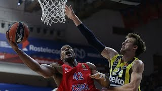 CSKA Moscú vs  Fenerbahçe Beko Istanbul (88-70) | Highlights | Turkish Airlines EuroLeague