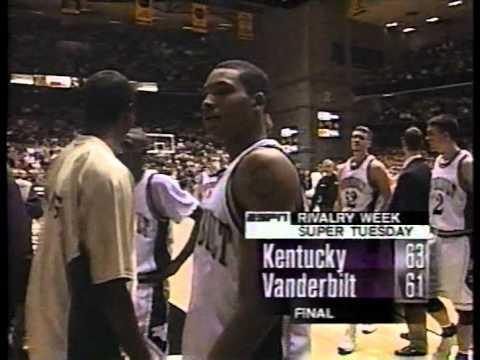 Kentucky Wildcats vs Vanderbilt Commodores 1998