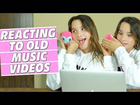 Reacting to Old Music Videos | Annie LeBlanc