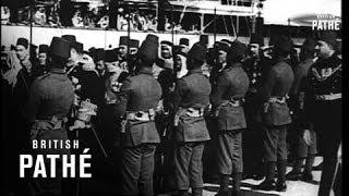 شاهد| على متن «المحروسة».. الملك عبد العزيز يزور مصر عام 1946