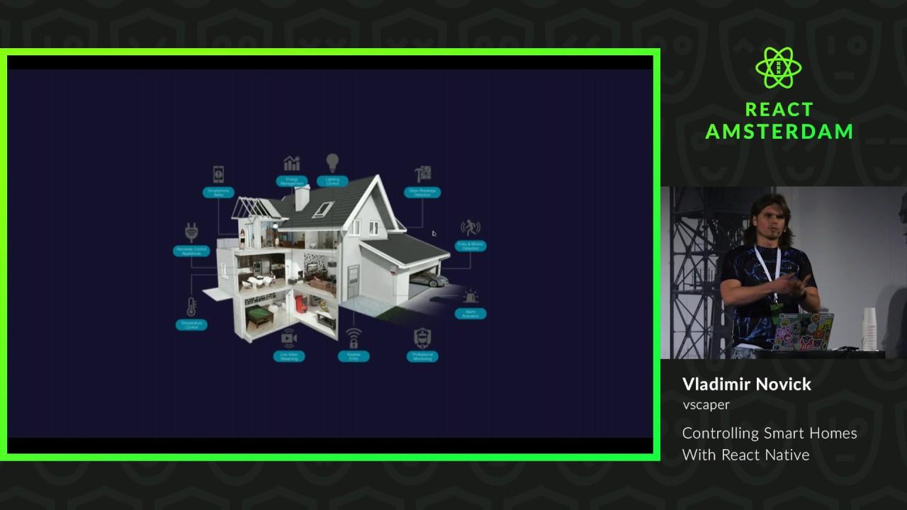 Controlling Smart Homes With React Native – Vladimir Novick