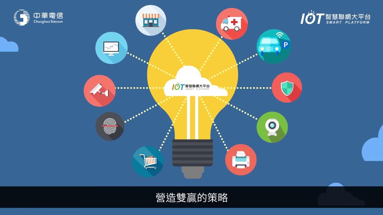 輕鬆打造創新物聯網│中華電信IoT大平台