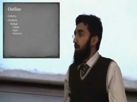 The Way Forward for Humanity Islam or Christianity? ( Uthman's Opening Statement - 2 of 4 )