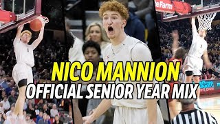 Nico Mannion Official Senior Year MIXTAPE!!! Arizona Commit Has FREAKY BOUNCE & NBA Game 🔥