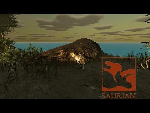 Mosasaurus Added - Saurian Gameplay