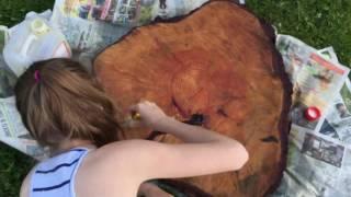 видео Срубы и изделия из дерева