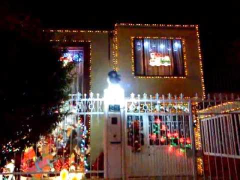 Casa con iluminaci n navide a en bogota colombia 9 - Casas adornadas de navidad ...