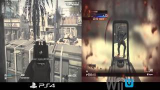 Wii U/PS4 Comparison Video Call of Duty: Ghosts Octane Team Deathmatch (1080p)