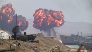 """Russische Armee übt den Krieg - Die Übung """"Kaukasus 2016"""" auf der Krim"""