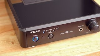 teac A-H01 amplifier - Review