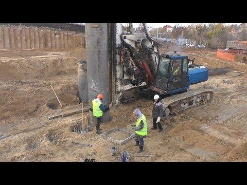 Метшин осмотрел строительство Большого казанского кольца. Движение пустят через год