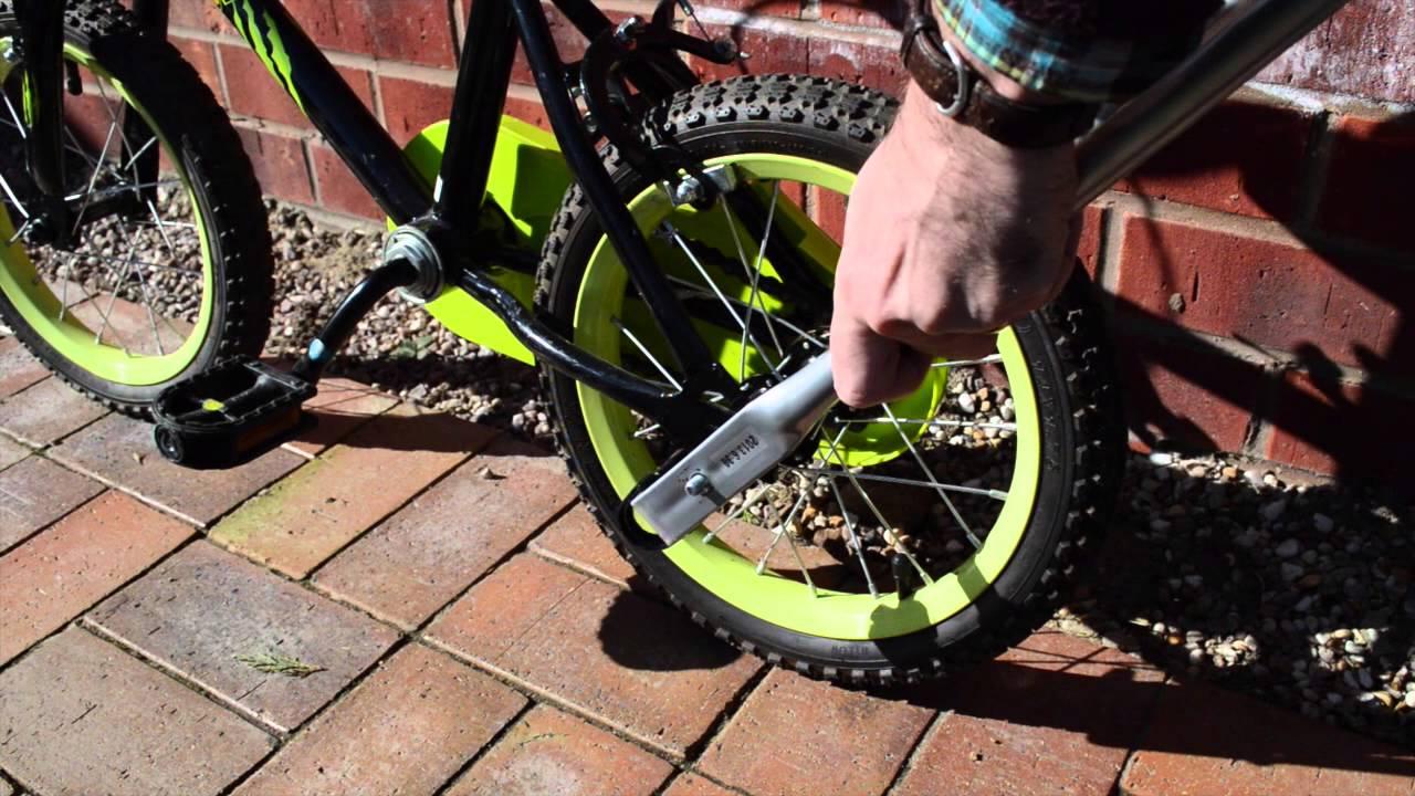 Balance Buddy Bike Handle Preventing Back Ache When Teaching