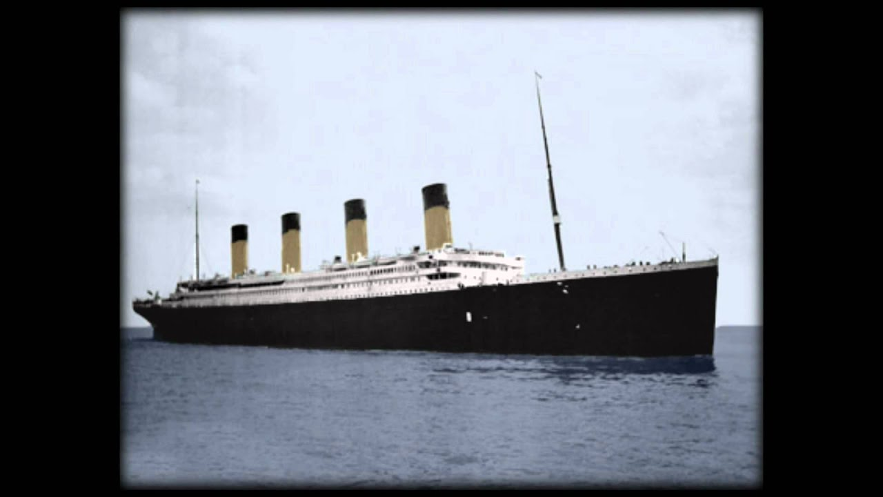 R M S Titanic In Colour High Definition Youtube
