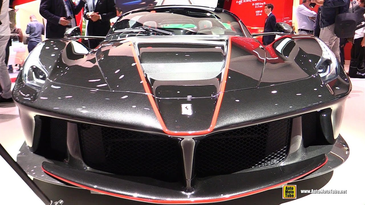 2017 Ferrari La Ferrari Aperta Exterior And Interior Walkaround Debut At 2016 Paris Motor Show