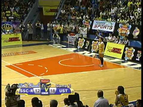 UST vs SSC-R Finals Game 1 052310 Shakey's V-League 7th ...