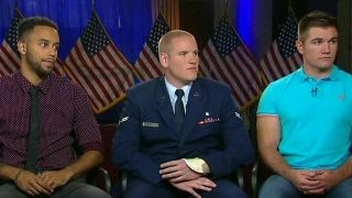Exclusive: Americans who prevented train attack speak out