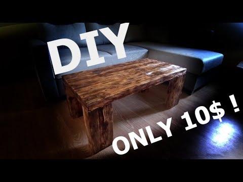 Industrial Table old wood DIY