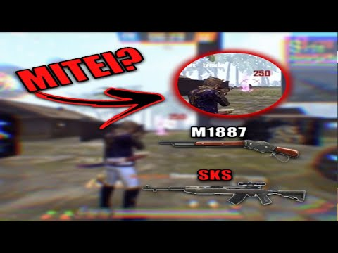 MITEI COM A DOZE NOVA ?!?EDIT HIGHLIGHTS FREE FIRE PELO IPHONE