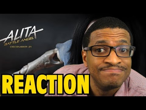 Alita: Battle Angel Official Trailer REACTION & REVIEW