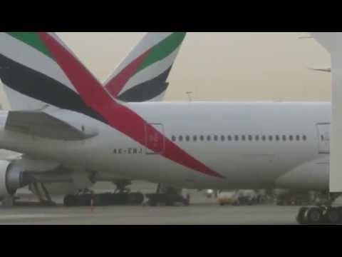 Emirates EK17 Full Flight - Dubai to Manchester (Airbus A380